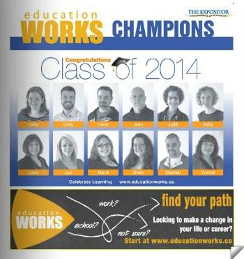 Class of 2014 Education WORKS Champions