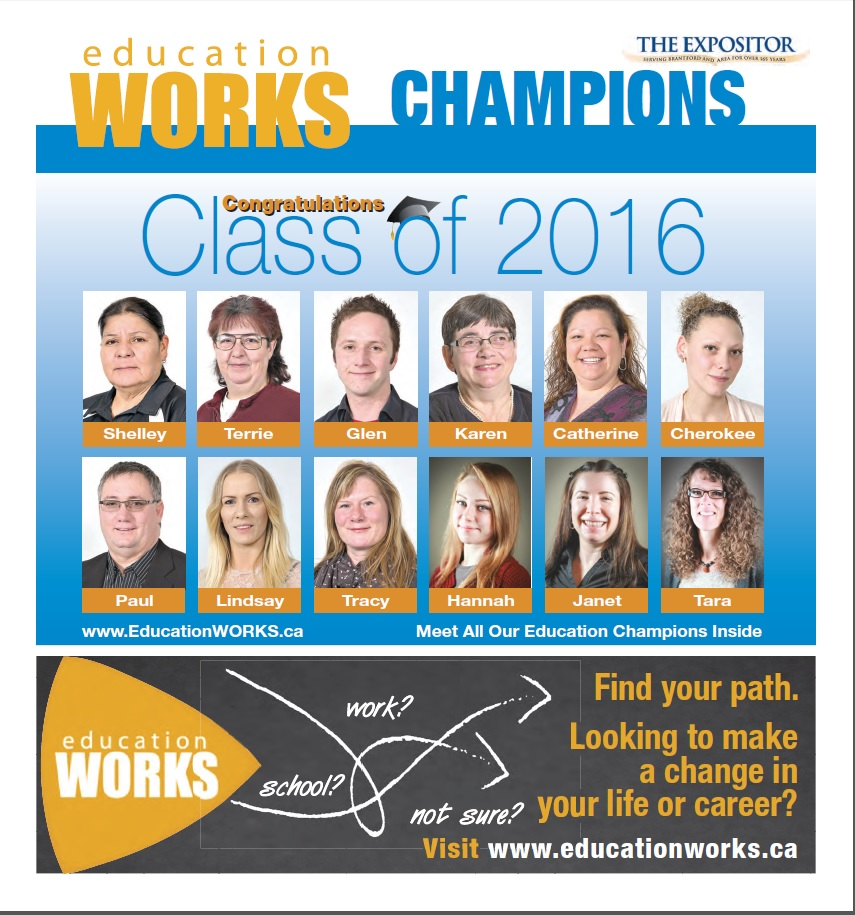 Photo of 2016 Education WORKS Champions section